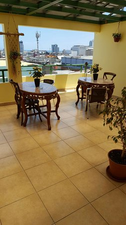 Terraza Fumadores Picture Of Apart Hotel Perla Norte