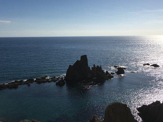 Desde el mirador del faro de Cabo de Gata