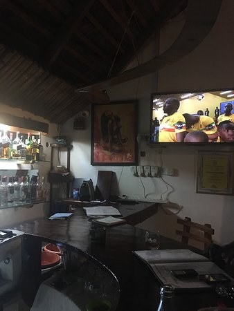 Sekondi-Takoradi, Ghana: Bar area