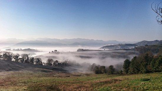 Cofino, Spain: Vistas desde el restaurante