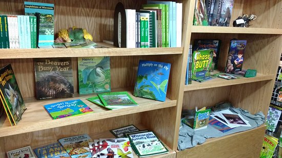 Horicon, WI: Books on Wildlife, the outdoors, Wisconsin, and plenty of children's books.