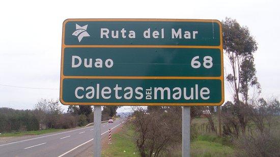 Maule Region, Chile: Acceso a la Ruta del Mar y caletas de Pescadores Región del Maule, Chile