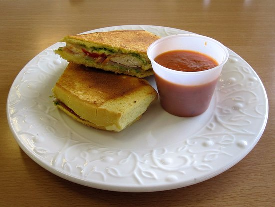 New Brunswick, Nueva Jersey: Italian Grilled Cheese & Tomato Soup for Dipping