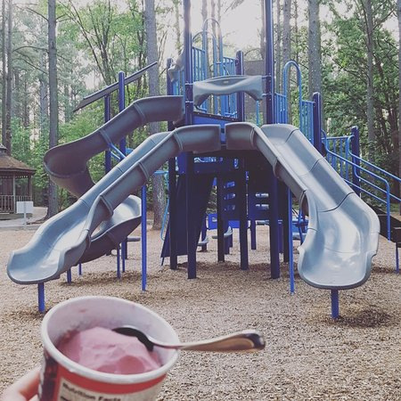 Cornelius, North Carolina: the playground