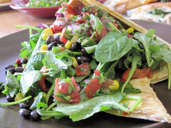 New Brunswick, Nueva Jersey: Quesadilla Salad