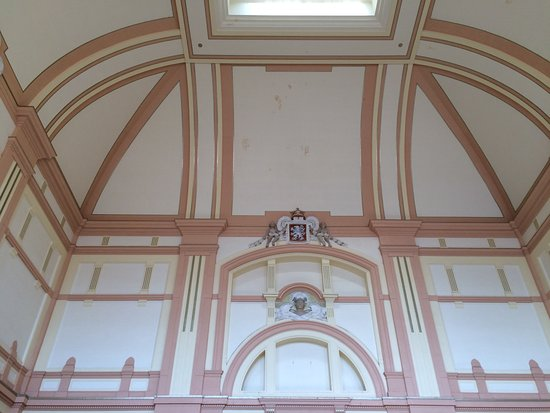 Pilsen, Czech Republic: The Railway Interior - Main Entrance