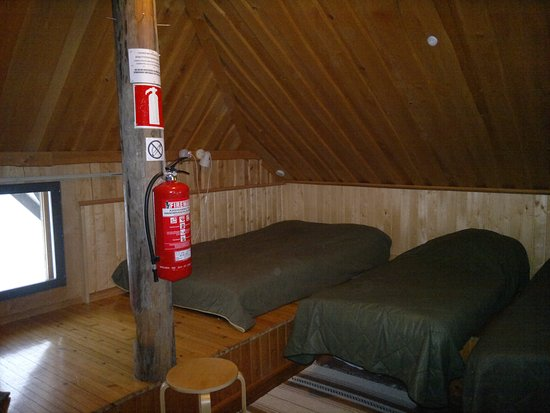 Seinajoki, Finland: Puronvarsimökin makuutila