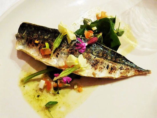 Trethurgy, UK: Local mackerel