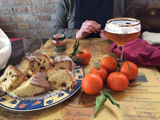 Varago, Italy: Finito di mangiare alla vigilia di Natale