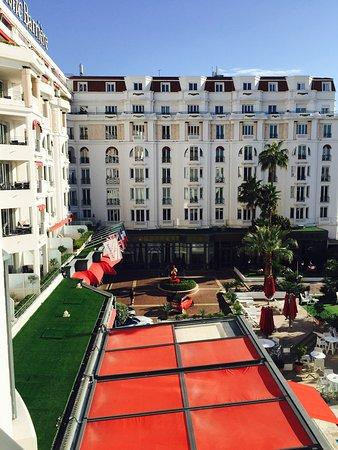 Hôtel Barrière Le Majestic Cannes: Hôtel art deco