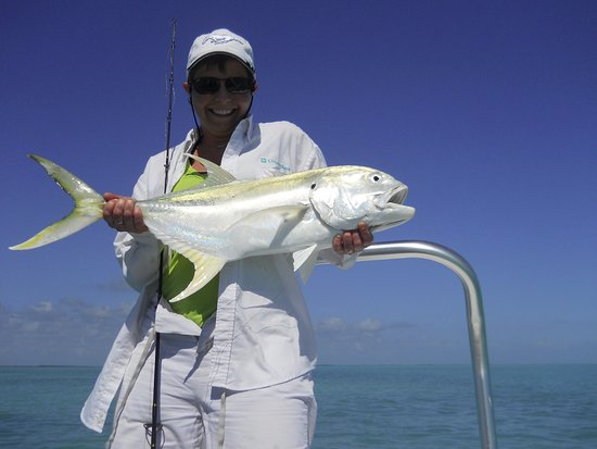 Las Terrazas Resort: wife with a beautiful Jack - took about 20 minutes to land