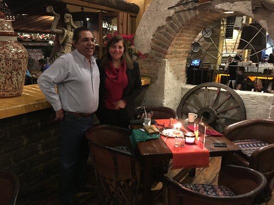 Hacienda Real: Celebracion de aniversario
