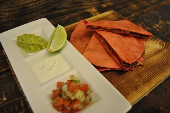 Tundra Restaurant & Bar : Vegetable Quesadilla (Lunch, Bar) ^ vegetarian