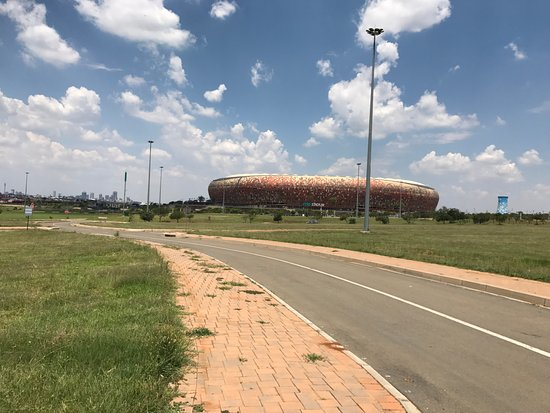 City Sightseeing Joburg: No meio do passeio para o Soweto
