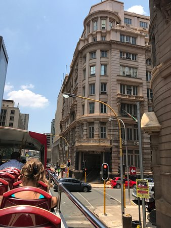 City Sightseeing Joburg: Vista do ônibus