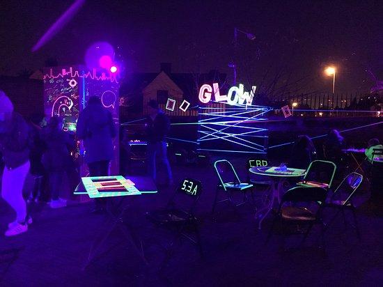 Barking, UK: Glow festival