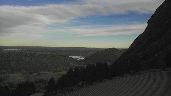 Morrison, โคโลราโด: Red Rocks amphitheater and view, CO