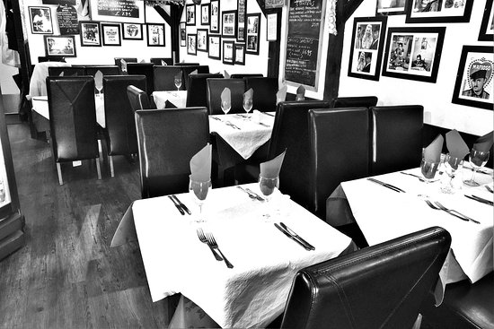 Broadstone, UK: Restaurant