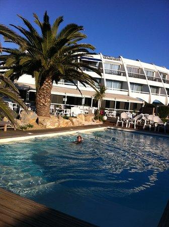 Hotel de la Plage: piscine chauffée fin novembre