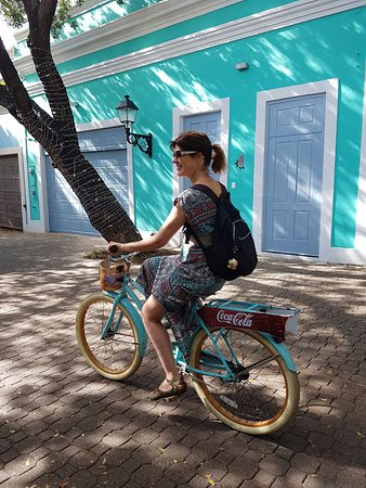 Santo Domingo Province, Dominican Republic: Bicicleta boa, andando pelas ruas
