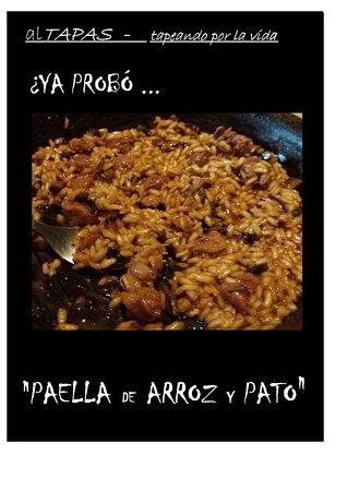 Santa Ana, Costa Rica: PAELLA DE ARROZ Y PATO CON SHITAKE