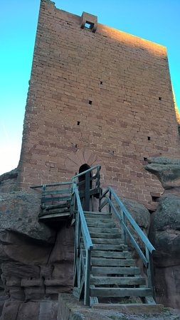 Province of Teruel, Spania: Escaleras de acceso