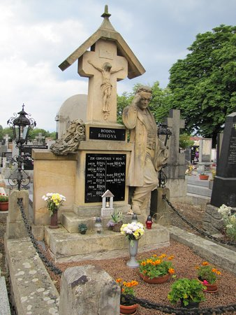 Tabor, Tsjekkia: náhrobek