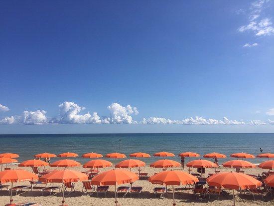 Ombrelloni Per La Spiaggia.Spiaggia Ombrelloni Foto Di Tortoreto Lido Tripadvisor