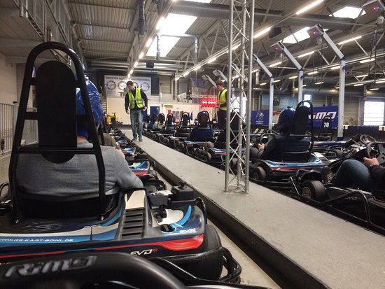 Bispingen, Germany: Good quality karts!