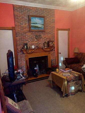 Historic Hill Inn: Detalle del salón