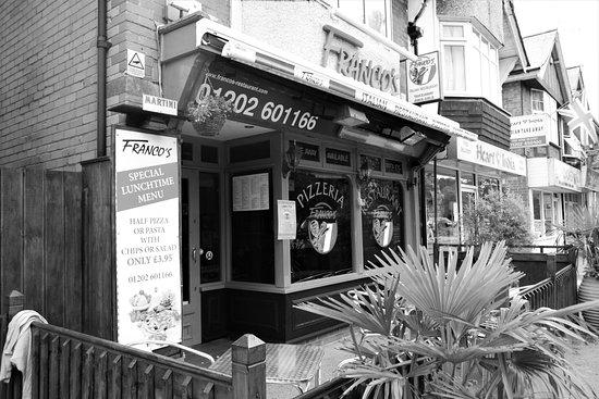 Broadstone, UK: Franco's Restaurant