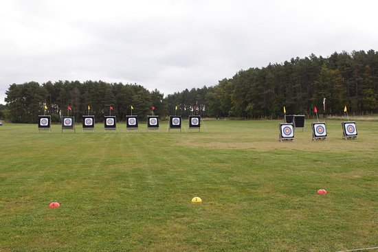 Elgin, UK: Archery Range