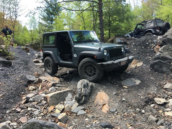 Pine Grove, Πενσυλβάνια: Rausch Creek Off-Road Park