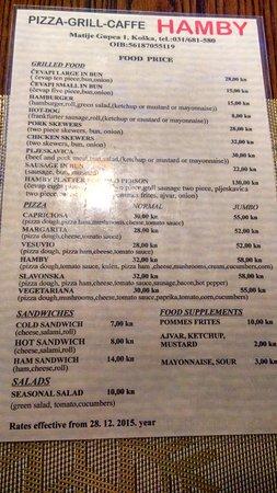 Pizza Grill caffe Hamby