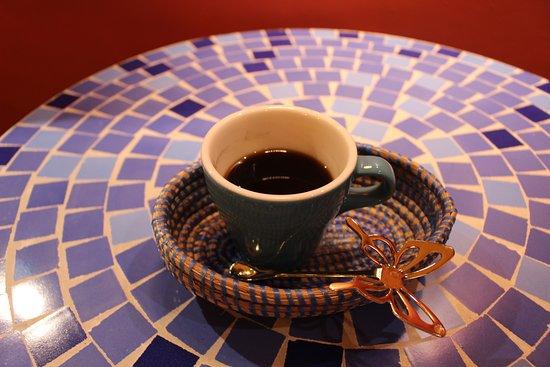 Africa Exotic Resort: Cafe TOUBA (Senegal coffee with guinea pepper) 450yen