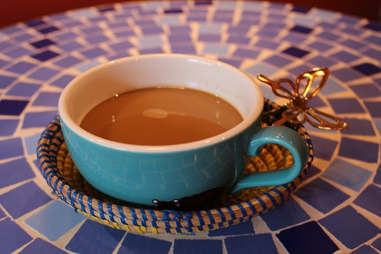 Africa Exotic Resort: Cafe Latte 500yen