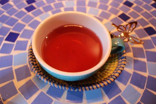 Africa Exotic Resort: Hibiscus tea 480yen