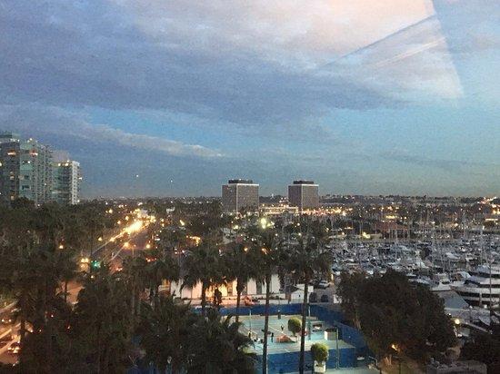 Marina del Rey, Kalifornien: Вид из номера