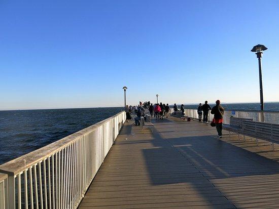 Coney Island USA: The pier at Coney Island.