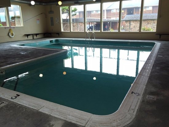 Gleneden Beach, OR: Indoor, heated pool!