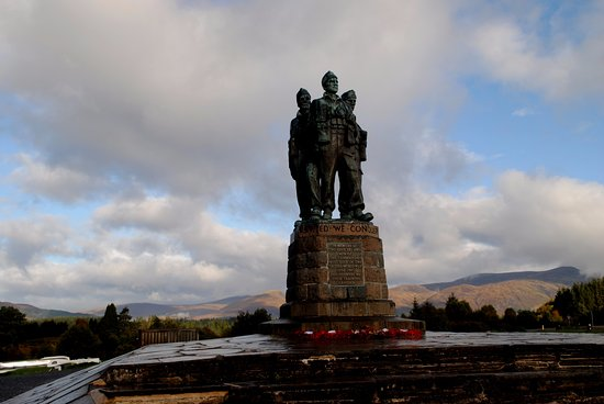 Spean Bridge, UK: Great site even on a Scottish misty morning!