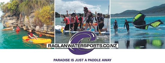 Raglan, Новая Зеландия: Paradise is a paddle away