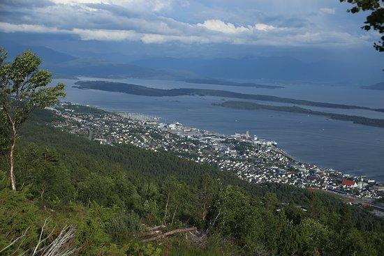 โมลเด, นอร์เวย์: View from Varden Molde