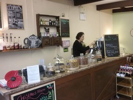 Timsbury, UK: service area