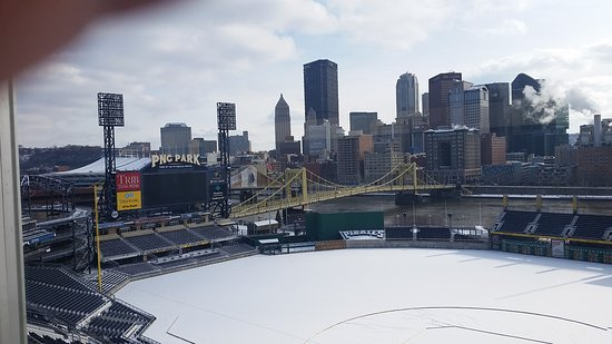 PNC Park from the Press box