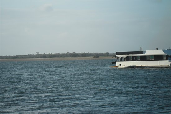 Southport, Australien: So close to the Broadwater.
