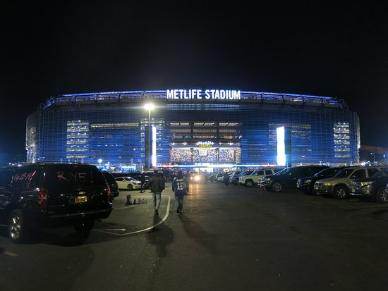 East Rutherford, NJ: Very cool stadium.