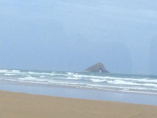 Kaitaia, Nueva Zelanda: Hole in the rock on 90 mile beach