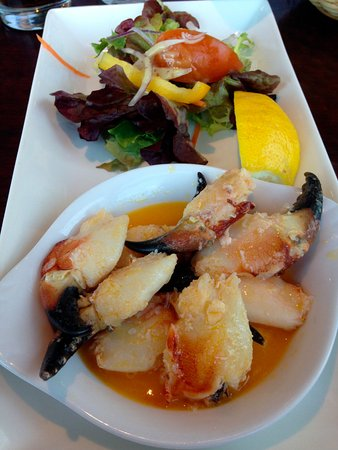 New Quay, أيرلندا: Crabs Claws in Butter