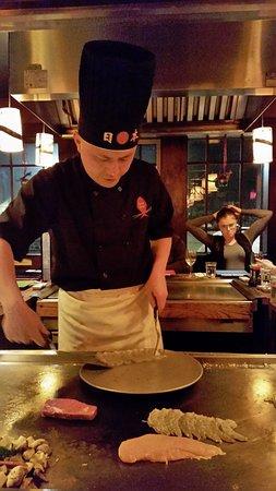Killington, VT: hibachi - shrimp, chicken, beef